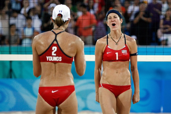 Women's Beach Volleyball Wardrobe Malfunctions