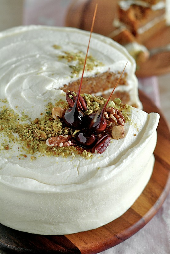 25. Carrot Cake with Maple Cream Cheese