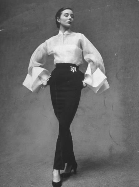 Paris Fashion Week Circa 1951 Messy Nessy Chic