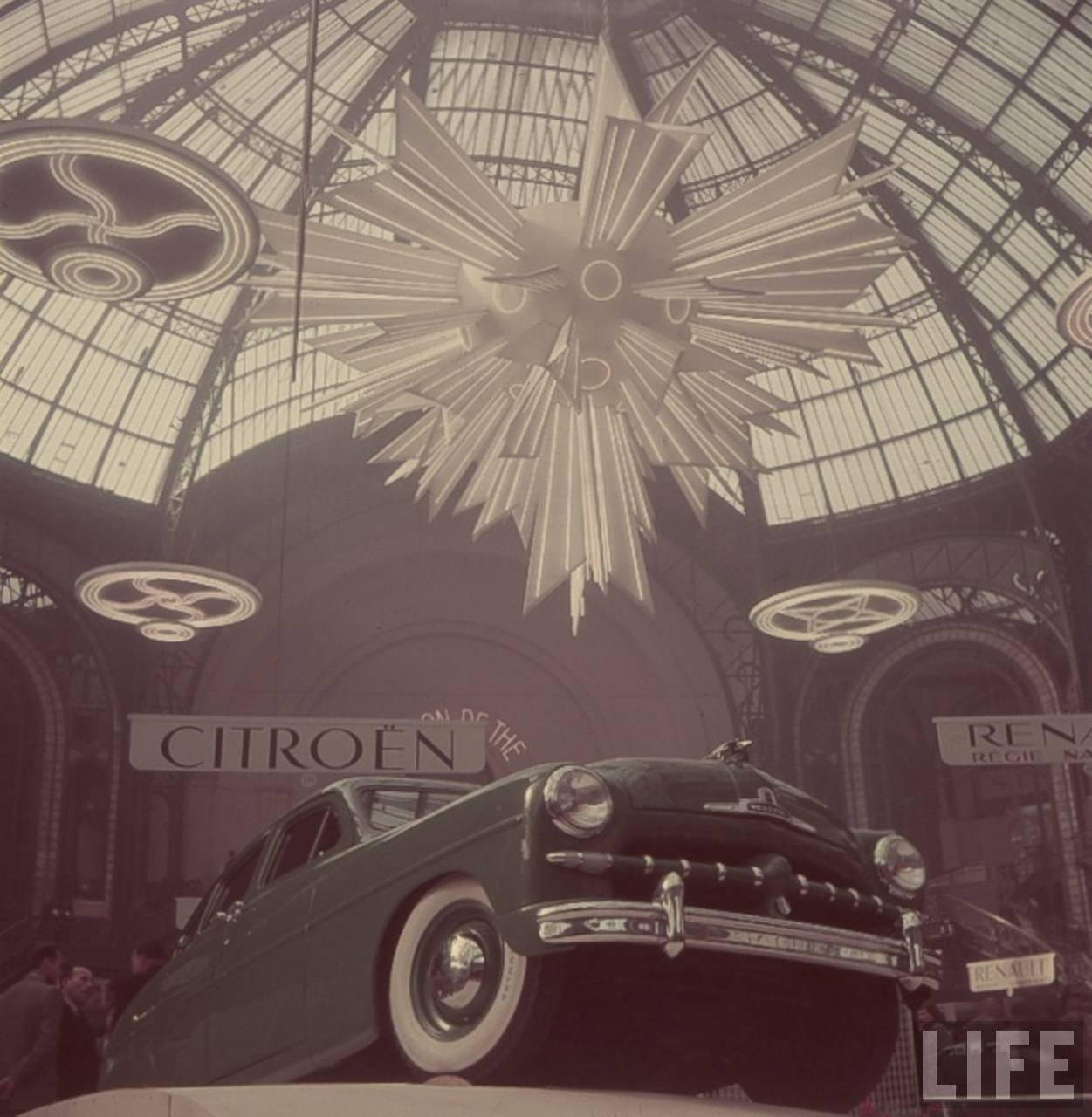 paris automobile show at the grand palais 1940s messy nessy chic. Black Bedroom Furniture Sets. Home Design Ideas