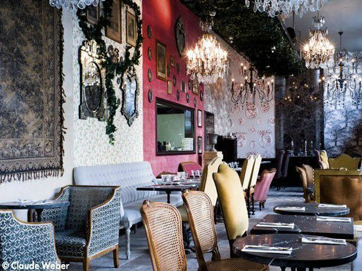 paris 10 trendy restaurants better than celebrity fly trap l avenue messy nessy chic. Black Bedroom Furniture Sets. Home Design Ideas