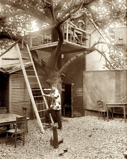 The 1920s Speakeasy Club With A Treehouse In The Backyard
