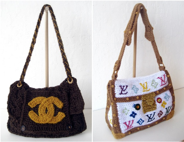 ... not an article about a new designer fashion trend for crocheted bags