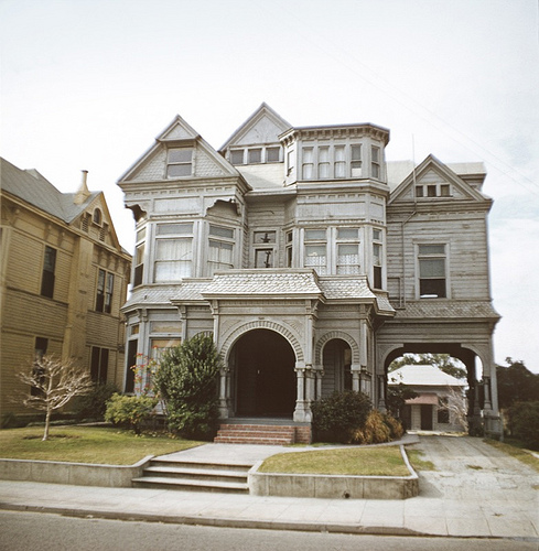 the lost victorian mansions of downtown la messy nessy chic