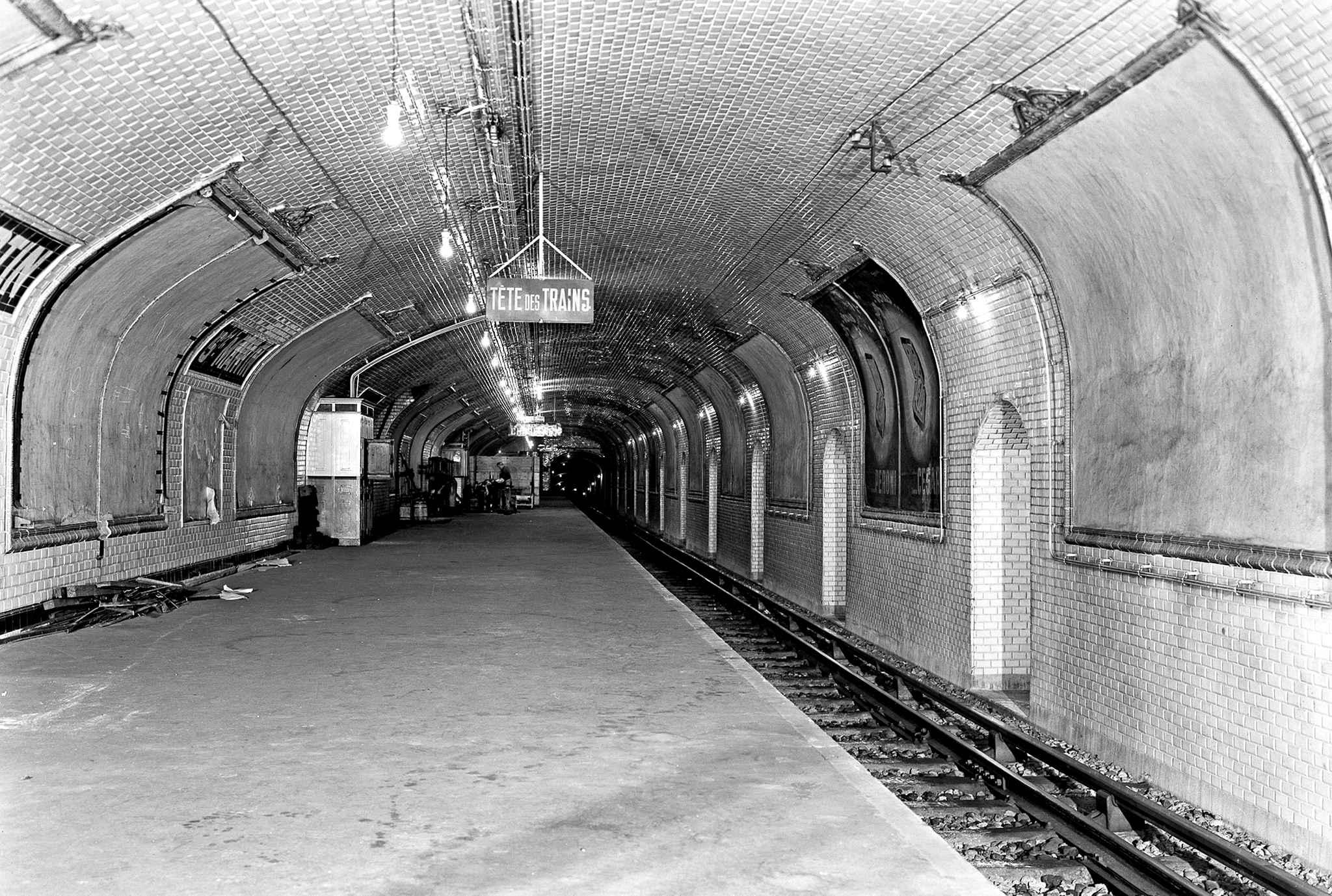 Фото заброшенных станций метро в москве 3 фотография